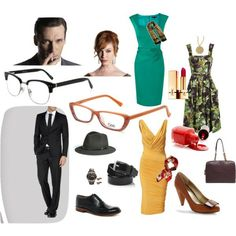 Mad Men Style, can you see them wearing these?