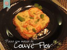 Confraria dos Chefs: Pizza com massa de Couve-Flor!