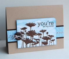 CAS117 You're on my mind by mamamostamps - Cards and Paper Crafts at Splitcoaststampers