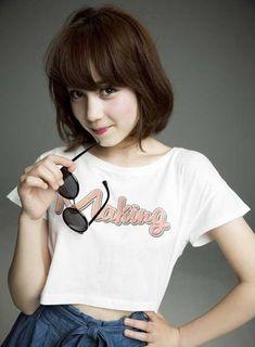 7.Short Haircut with Bangs