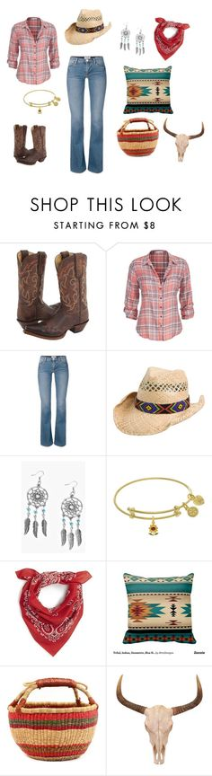 """""""Shadow Ranch"""" by ndfan3333 on Polyvore featuring Tony Lama, maurices, Boohoo and Cara"""