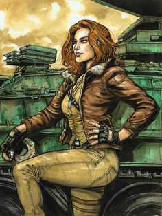 "comicbookwomen: "" Ryan Kelly "" Cover Girl from GI Joe Arte Dc Comics, Marvel Comics, Marvel Vs, Baroness Gi Joe, Comic Books Art, Comic Art, He Man Thundercats, Joe Movie, Nostalgia"