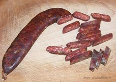 Ghiudem - dried sausages