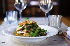 Sutton Hoo Chicken Escalope; New Season English Asparagus Salad