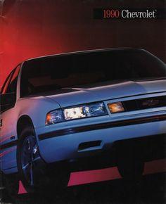 GM 1990 Chevrolet Sales Brochure Chevrolet Lumina, Chevy