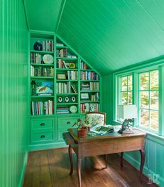 green home office inspiration spring green wallsceiling large bare window built in shelves make fabulous home office 282 best library study home office rugs images on pinterest