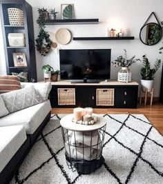 20 tips will help you improve the environment in your bedroom Cute Living Room, New Living Room, My New Room, Living Room Interior, Modern Living Room Decor, Modern Apartment Decor, Living Room Inspiration, Apartment Living, Living Room Designs