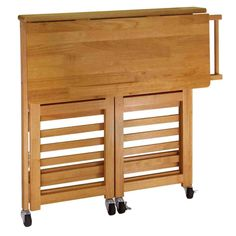 New Post rolling kitchen cart with drawers