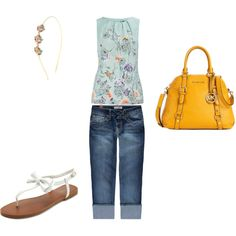 girly spring, created by jenni1013 on Polyvore