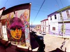 Zas in Chile - Valparaiso