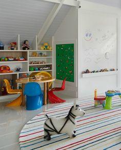 Inspiração: ideias de decoração divertidas para quartos infantis