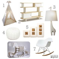 Kids Room Ideas: White Inspiration | Sprout