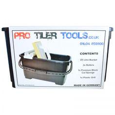 Pro Tiler Tools Economy 22Ltr Washboy Set PTT202270