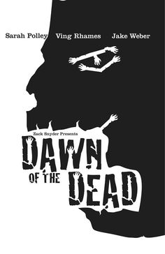 Minimal Movie Posters - Dawn of the Dead by Fabian Molina