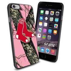 Boston Red Sox MLB PinkCamo Logo WADE6294 Baseball iPhone 6 4.7 inch Case Protection Black Rubber Cover Protector WADE CASE http://www.amazon.com/dp/B013Z3UWO2/ref=cm_sw_r_pi_dp_kAmnwb1HZ5B6Z