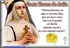 41 Mejores Imágenes De Santa Teresa De Jesús De ávila Saints