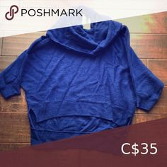 Scoopneck BCBG sweater A nice blue high/low sweater with short sleeves. Only worn once BCBGMaxAzria Sweaters Crew & Scoop Necks Hoodies, Sweatshirts, High Low, Scoop Neck, Sweaters For Women, Short Sleeves, Nice, Closet, Things To Sell