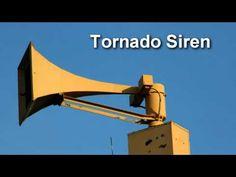 Tornado Warning Siren Sound Effect - YouTube