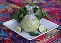 Cilantro-Lime Vinaigrette  Recipe by Our Best Bites  1/4 c. fresh lime juice (about 2-3 juicy limes)  1/4 c. white wine vinegar or rice vinegar  4-5 cloves garlic  1/2 tsp. Kosher or sea salt  2 tsp. sugar  1 c. canola oil  1/2 c. roughly chopped cilantro, stems removed