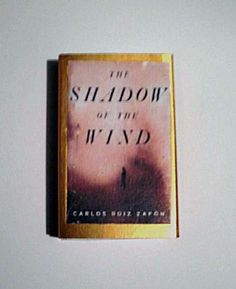 The Shadow of the Wind - Book Cover Literary Matchbook