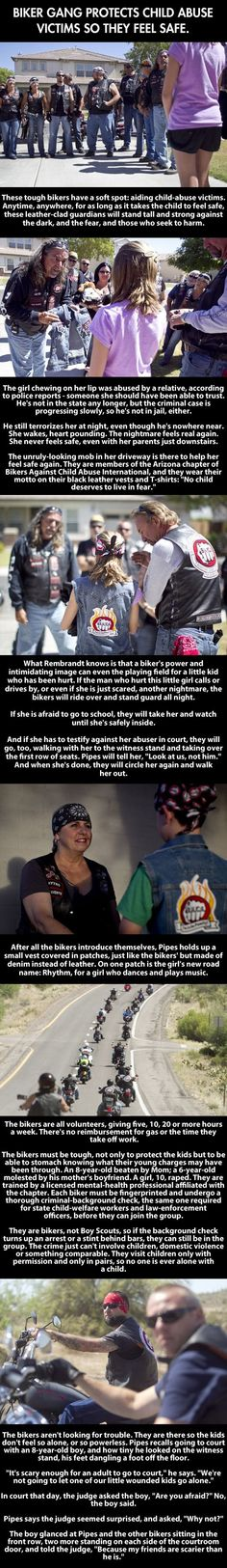 When Rough Men Approached A Little Girl, I Was Scared. Then I Realized What They Were REALLY Doing.