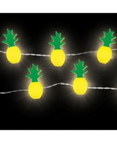 Pineapple String Lights Set Of 2 String Art, String Lights, Locker Mirror, Pineapple Lights, Locker Ideas, Fathers Day Gifts, School Ideas, Lockers, Wall Art