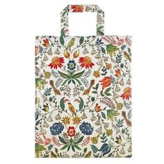 I can't get enough of this stunning William Morris inspired oilskin bag - perfect for adding a splash of style to the weekly shop