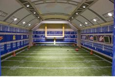 Awesome football room