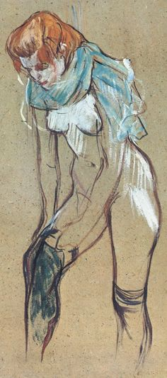 """Maria Laterza"" by Henri de Toulouse-Lautrec standing semi-nude female drawing. Henri De Toulouse Lautrec, Canvas Art, Canvas Prints, Art Challenge, Erotic Art, Figure Drawing, Les Oeuvres, Sketches, Fine Art"
