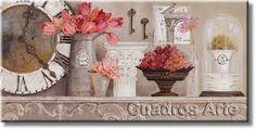 Resultado de imagen para cuadros manualidades vintage oaintres