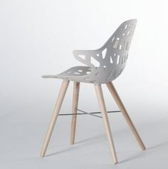 Spider Legs. See More. Stackable Chair/armchair With Frame In Chromed Or  Lacquered Steel And Seat In Die Casted