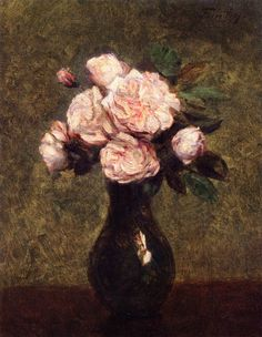 Henri Fantin-Latour's Top 6 Flower Paintings