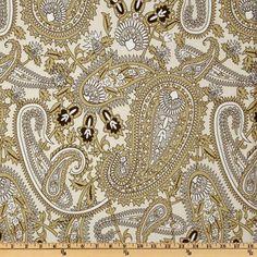 Premier Prints Henna Twill River Rock - Discount Designer Fabric - Fabric.com