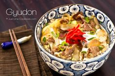 Gyudon (Beef Bowl) 牛丼  One of my new favorites!