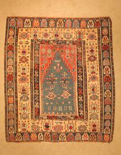 Orginal_Turkish_Erzurum_Red_Church_Kilim Size:180x155cm