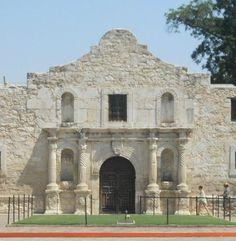 Iconic facade of the Alamo ~ San Antonio, Texas