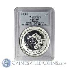Buy Gold And Silver, Silver Bullion, Silver Dragon, Coin Collecting, 1 Oz, Silver Coins, Australia, Silver Quarters