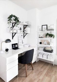 Design Home Office - Design Home Office Home Office Space Design Ideas biuro Home office design. Beautiful and Subtle Home Office Design Ideas restyle your office. 50 Home Office Design Ideas That Will Inspire Productivity room[…] Home Office Design, Home Office Decor, Office Designs, Workspace Design, Office Workspace, Small Workspace, White Desk Office, Office Room Ideas, Bedroom Workspace