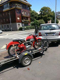 Vintage 1953 Parilla 150cc