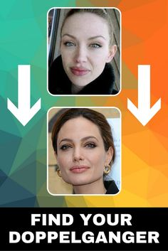 MY DOPPELGANGER is ANGELINA JOLIE👩👩 Have you ever wondered WHO IS YOURS? Take the TEST, subscribe and FIND OUT⬆