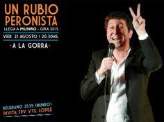 """Un """"Rubio Peronista"""" se presenta a la """"gorra"""" en Munro"""