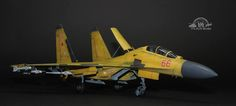 """Russian SU-27 """"Gold"""" version By Modeler Michael Lee 1:48 Scale"""
