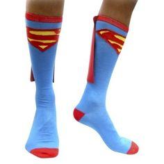 socks for SUPERMAN! by alicestephanie