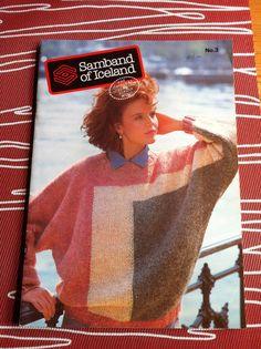 1994 Samband of Iceland sweaters 20 patterns man woman child