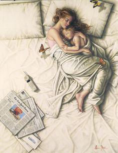 co-sleeping :-)