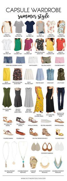Summer Capsule Wardrobe + 2 Weeks of Outfits