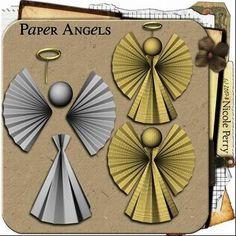 Resultado de imagen para moldes angel cartulina