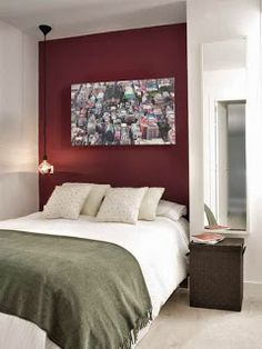 the maroon bedroom color schemes paint interor decoration ideas is