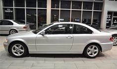 Very rare and hard to find 2002 BMW 325Ci (E46) with Sport PKG. Only 81.436 km. 2.5L DOHC 24V Inline 6, finished in beautiful titan silver metallic over black leather interior, loaded with leather, sunroof, heated seats, power windows, power locks, power mirrors, air conditioning, CD Player, owner's manual and much more. Local Canadian car with clean Carproof. Comes certified and E-Tested. This meticulously maintained 325Ci looks, drives and sounds amazing.bm