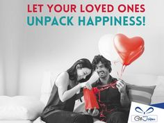 Unpack happiness by Gifting. You Can Do, Told You So, Online Flower Delivery, Online Florist, Gift Cake, Send Flowers, To Tell, Anniversary Gifts, First Love